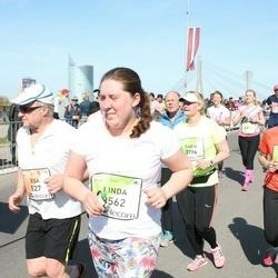 The 27th Lattelecom Riga Marathon - Esa Lukkarinen (527), Linda Jonīte (3562), Anne Koskela (3790), Tarja Hiitola (3796)