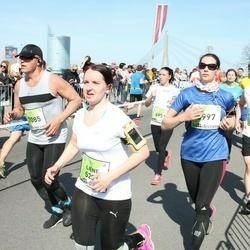 The 27th Lattelecom Riga Marathon - Gundega Sepa (5997), Agris Daņiļevičs (7085)