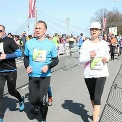 The 27th Lattelecom Riga Marathon - Aija Zandberga (3948), Ali Laitasaari (4146)