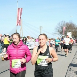 The 27th Lattelecom Riga Marathon - Aleksandra Gasiorowska (4050), Aija Lāce (4985)