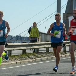 The 27th Lattelecom Riga Marathon - Gigla Zilbershtein (23), Kristaps Bērziņš (1809), Jevgēnijs Turkins (5885)
