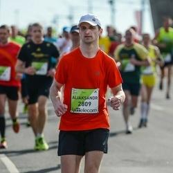 The 27th Lattelecom Riga Marathon - Aliaksandr Grachulin (2809)