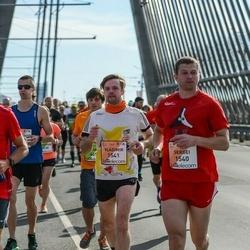The 27th Lattelecom Riga Marathon - Sergei Bardin (1540), Vladimir Malyshkin (1541)