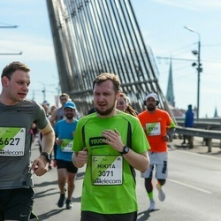 The 27th Lattelecom Riga Marathon - Mikita Khatsimtsou (3071)