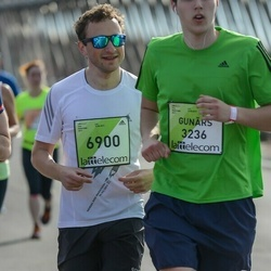 The 27th Lattelecom Riga Marathon - Gunārs Velde (3236), Antons Vostroilovs (6900)