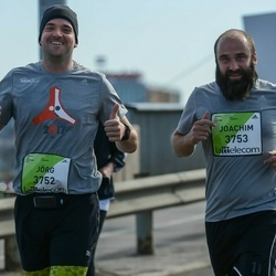 The 27th Lattelecom Riga Marathon - Jörg Noebels (3752), Joachim Winkler (3753)