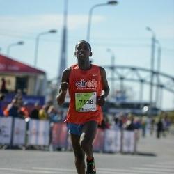 The 27th Lattelecom Riga Marathon - Ibrahim Mukunga Wachira (7138)
