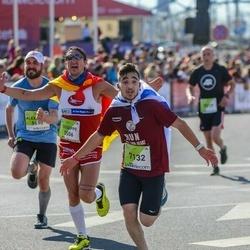 The 27th Lattelecom Riga Marathon - Giuseppe Capozza (5506), Hesham Shannan (7132)