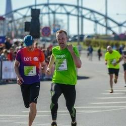 The 27th Lattelecom Riga Marathon - Edgars Egle (4528), Gints Bukovskis (5398)