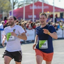 The 27th Lattelecom Riga Marathon - Jurijs Misjuns (3928), Aleksandrs Okeņuks (6988)