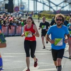 The 27th Lattelecom Riga Marathon - Zane Svetiņina (3339), Rousseau Alexandre (4657)