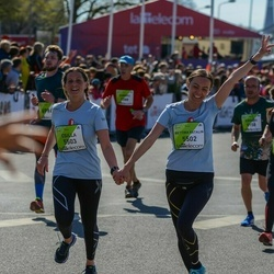 The 27th Lattelecom Riga Marathon - Bettina Katalin Jakab (5502), Csilla Nagy (5503)