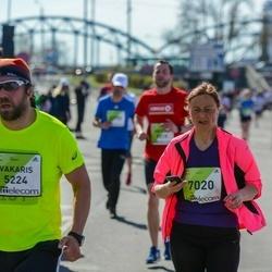 The 27th Lattelecom Riga Marathon - Vakaris Medžius (5224), Dace Lāma (7020)