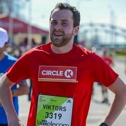 The 27th Lattelecom Riga Marathon - Jānis Voronovs (3309)