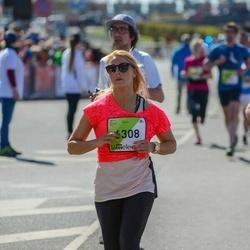 The 27th Lattelecom Riga Marathon - Santa Priede (6308)