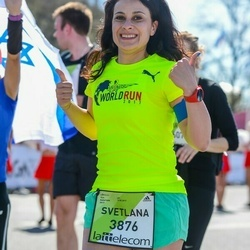 The 27th Lattelecom Riga Marathon - Svetlana Krylova (3876)