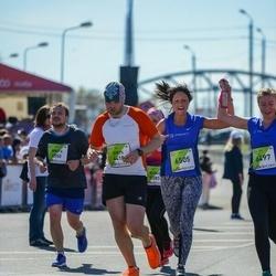 The 27th Lattelecom Riga Marathon - Nikita Mischenko (4550), Oksana Kirilova (6505)