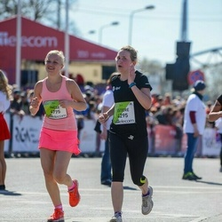 The 27th Lattelecom Riga Marathon - Estere Antāne (4295), Inese Laizane (4775)