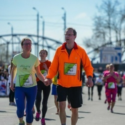 The 27th Lattelecom Riga Marathon - Hans Buss (2961), Elke Wege (2962)
