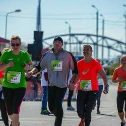 The 27th Lattelecom Riga Marathon - Banga Mickevičienė (2643), Tautvydas Bagdonavicius (6945)