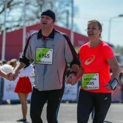 The 27th Lattelecom Riga Marathon - Kristina Lukiene (3585), Tautvydas Bagdonavicius (6945)