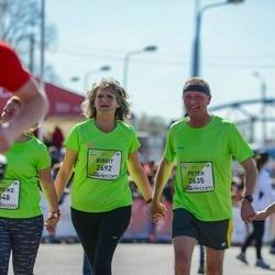The 27th Lattelecom Riga Marathon - Peter Arp (2635), Birgit Kafura (2692)