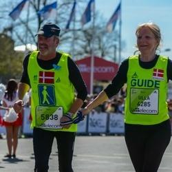 The 27th Lattelecom Riga Marathon - Ulla Christensen (4285), Hans Struer (5838)