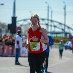 The 27th Lattelecom Riga Marathon - Rebecca Nellis (3301)