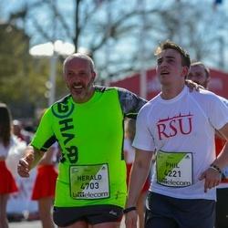 The 27th Lattelecom Riga Marathon - Phil Domin (4221), Herald Domin (4703)