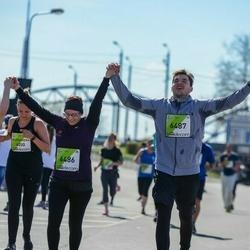The 27th Lattelecom Riga Marathon - Agnese Gudre (6486), Ritvars Melnis (6487)
