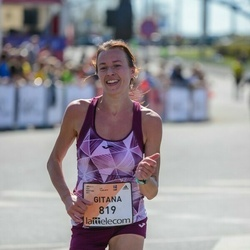 The 27th Lattelecom Riga Marathon - Gitana Akmanaviciute (819)