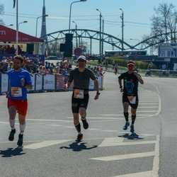 The 27th Lattelecom Riga Marathon - Ainārs Kumpiņš (1006), Andris Drešmanis (1954)