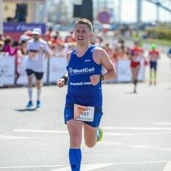 The 27th Lattelecom Riga Marathon - Sergey Anoshenkov (1607)