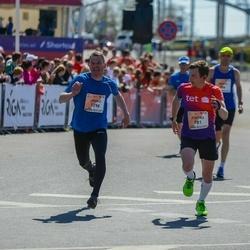 The 27th Lattelecom Riga Marathon - Pjotrs Adjukovs (781), Jouko Markkanen (1296)