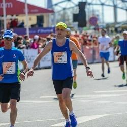 The 27th Lattelecom Riga Marathon - Kristo Kokk (886), Raimo Hemmilä (1242)