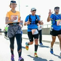 The 27th Lattelecom Riga Marathon - Tzur Bashiri (1653), Amir Hleihil (1776)