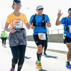 The 27th Lattelecom Riga Marathon - Sirpa Heinävaara (1281), Tzur Bashiri (1653), Amir Hleihil (1776)