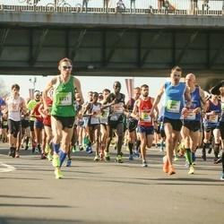The 27th Lattelecom Riga Marathon - Mārtiņš Auziņš (91), Andris Ronimoiss (1352), Kristaps Broks (1701), Alexey Belousov (2099), Ainārs Kvedravičs (2670), Džineta Dimante (3180), Antis Zunda (6221)