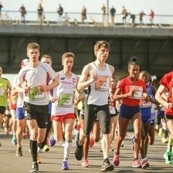 The 27th Lattelecom Riga Marathon - Meseret Gebre Dekebo (32), Szymon Gwardjak (119), Allan Männi (1122), Uiadzimir Zhurauliou (5447), Edgars Jansons (6534)