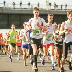 The 27th Lattelecom Riga Marathon - Szymon Gwardjak (119), Allan Männi (1122), Edgars Jansons (6534)