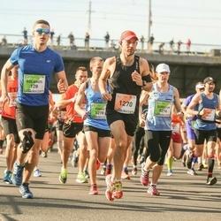 The 27th Lattelecom Riga Marathon - Rolands Pužulis (128), Andy Nice (1270), Eurelija Venskaitytė (5276), Tomas Gudas (5278)