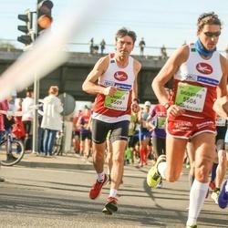 The 27th Lattelecom Riga Marathon - Giuseppe Capozza (5506), Angelo Vaccaro (5509)