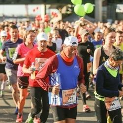 The 27th Lattelecom Riga Marathon - Adriano Boldrin (903), Alessandra Bertazzo (904)