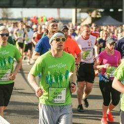 The 27th Lattelecom Riga Marathon - Gunārs Gaumigs (4597), Gatis Gaumigs (4598)