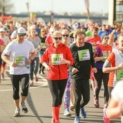 The 27th Lattelecom Riga Marathon - Kaspars Kviesis (5258), Aigars Silkalns (6823)