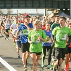 The 27th Lattelecom Riga Marathon - Nauris Dobelis (4552), Anna Dobele (4553), Roberts Ketlers (6323)