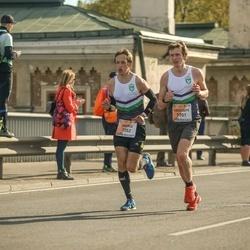 The 27th Lattelecom Riga Marathon - Andris Ronimoiss (1352), Kristaps Broks (1701)