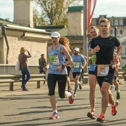 The 27th Lattelecom Riga Marathon - Pavel Osipov (1113), Eurelija Venskaitytė (5276)