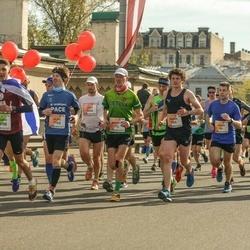 The 27th Lattelecom Riga Marathon - Andrius Jagminas (75), Maxim Ignatenko (709), Jānis Teteris (1456), Uldis Kļaviņš (1765), Samir Amer (4988)
