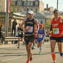 The 27th Lattelecom Riga Marathon - Philip Hogg (1210), Aliaksandr Shkuhal (3157)